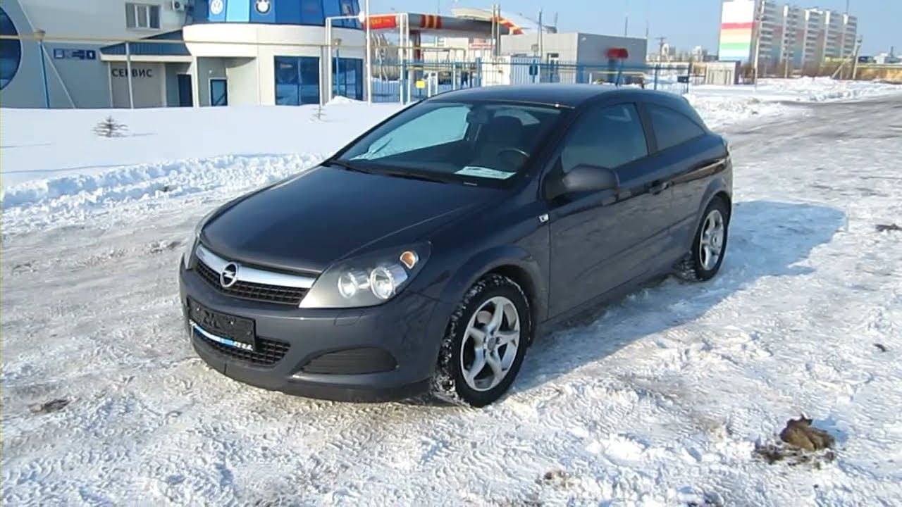 Opel Astra 2008г. 1.6 МТ