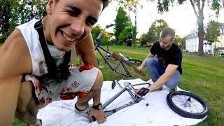 ТРЭШ BMX СБОРКА - Как не нужно собирать велосипед!