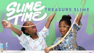 Treasure Slime | Slime Time | HiHo Kids