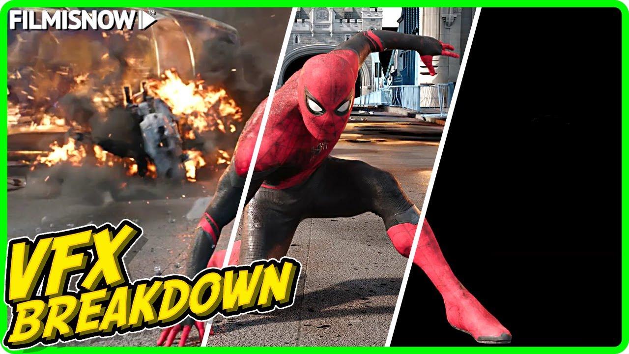 Download SPIDER-MAN: FAR FROM HOME   VFX Breakdown by Imageworks VFX (2019)