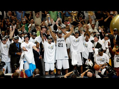 2005 NBA Champions - San Antonio Spurs - One team, One goal,