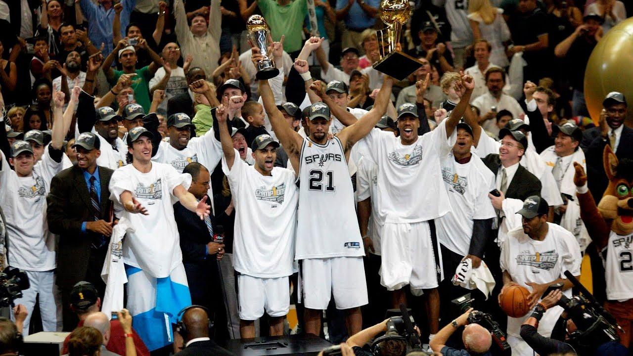 Download 2005 NBA Champions | San Antonio Spurs - One team, One goal, Third Championship