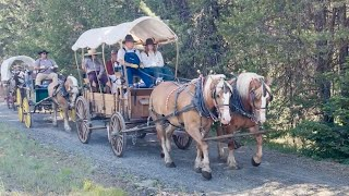 Pendleton Wagon Train - The Ride