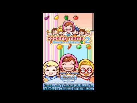 NeXGam Plays Cooking Mama 2 Dinner With Friends (Nintendo DS)