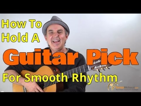 How To Use A Guitar Pick To Play