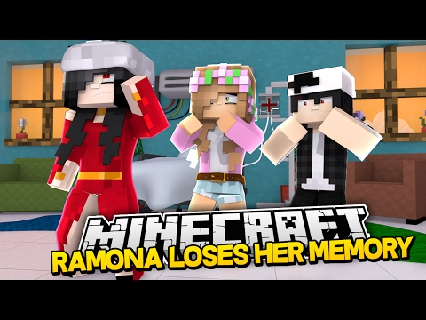 RAMONA LOSES HER MEMORY AND IS NICE?! Minecraft Royal Family w/LittleKelly&Carly & Raven (Roleplay)