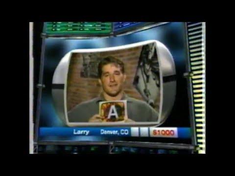 Paranoia Game  Premier Part 1,2 April 2000 Peter Tomarken