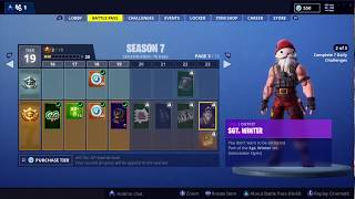 How to unlock SGT. WINTER EDIT STYLES FASTER in Fortnite