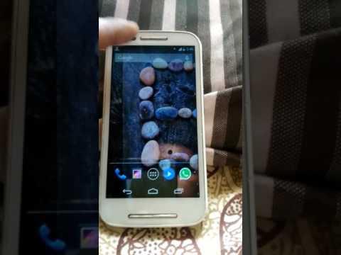 Motorola Moto E 3G to 4G convert