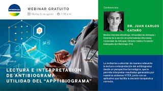 """Webinar: lectura e interpretación del antibiograma - Utilidad del """"Apptibiograma"""""""