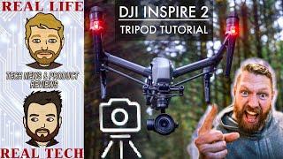 Tutorial DJI Inspire 2  // Tripod mode // Beginners tips // Easy flying // Professional shots