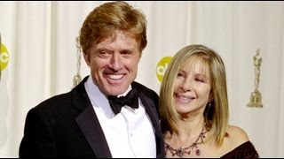 Robert Redford receiving an Honorary Oscar®