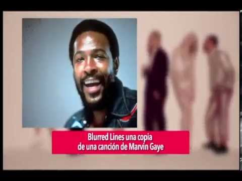 MÚSICA: Blurred Lines una copia a Marvin Gaye
