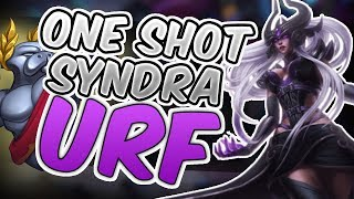 SYNDRA ONE SHOT URF 2017 ALL RANDOM - ULTRA RAPID FIRE 2017 ALL RANDOM - League of Legends