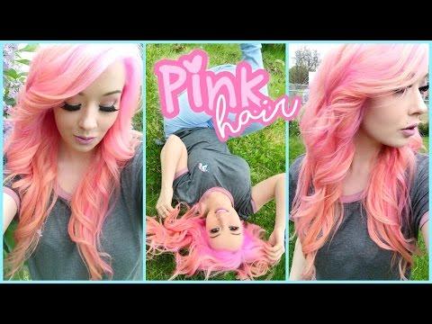 Coloring My Hair Pink!