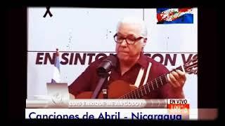 Luis Enríque Mejía= Mi Patria Me Duele en Abril