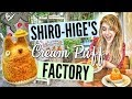 MY NEIGHBOR TOTORO THEMED DESSERTS // SHIRO-HIGE'S CREAM PUFF FACTORY // Tokyo Food Guide