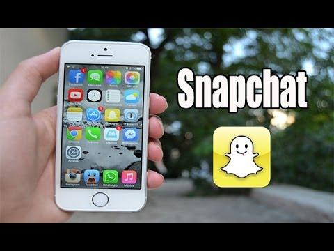 Como enviar fotos del carrete por Snapchat en iOS 7 para iPhone iPod & iPad - YouTube