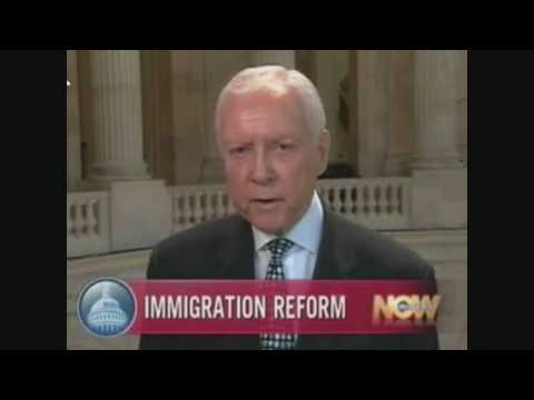 "Sen. Orrin Hatch Says ""There is No Way"" Immigration Bill Will Pass This Year"