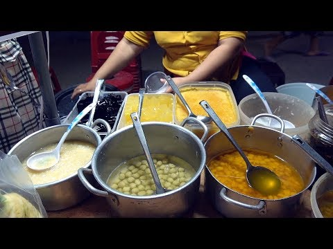 AWESOME Combo Dessert, Mixed Sweet Soup (Chè Thập Cẩm) – Vietnam Street Food