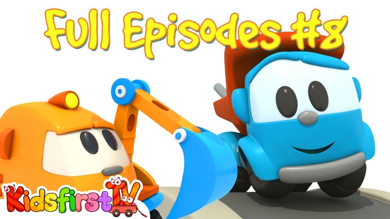 Uncategorized Videos Of Cartoons leo the truck full episodes 8 car cartoons learning videos cars games for babies