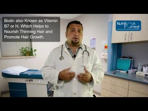 WARNING Biotin B Vitamin Safe For Hair Growth