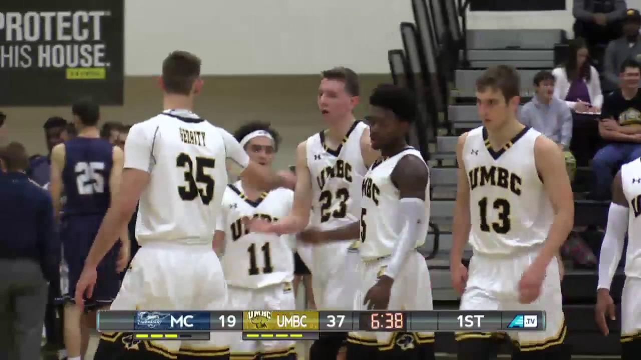 40c0222c8b2 UMBC Men's Basketball vs Messiah Highlights 12/3/16 - YouTube