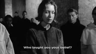 The Trial of Joan of Arc Trailer, 1962