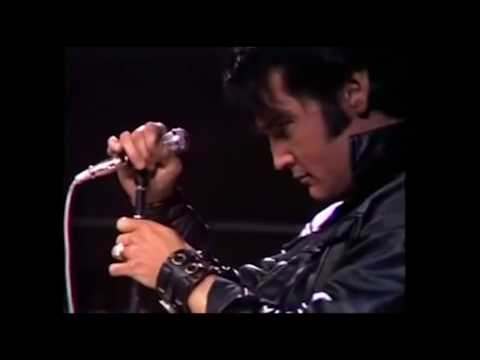 Musicless Musicvideo / ELVIS PRESLEY - live at NBC Studios 1968
