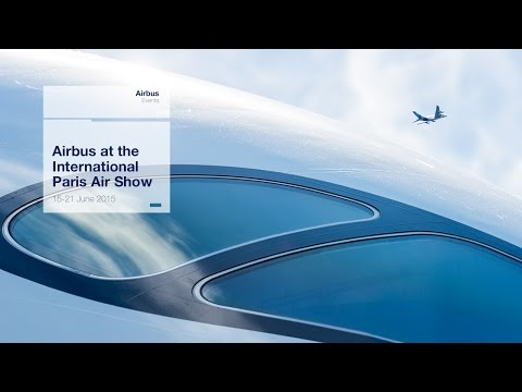 Paris Air Show 2015 - Wednesday 17 June - A350 XWB, A380 and A400M Flying displays (uncut version)