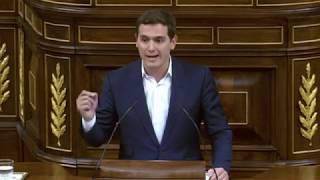 Rivera contra la ministra de Hacienda por los Presupuestos - Debate