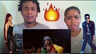 Bruno Mars and Cardi B - Finesse ( LIVE from the 60th Grammys ) REACTION | MILLY & PHATBOOS
