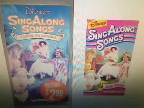 Disney Sing Along Songs: I Love To Laugh & Supercalifragilisticexpialidocious