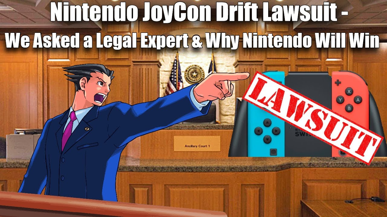 New Nintendo Joy-Con Drift Lawsuit Development - We Asked a Legal Expert Who Will Win (ft. Hoeg Law)