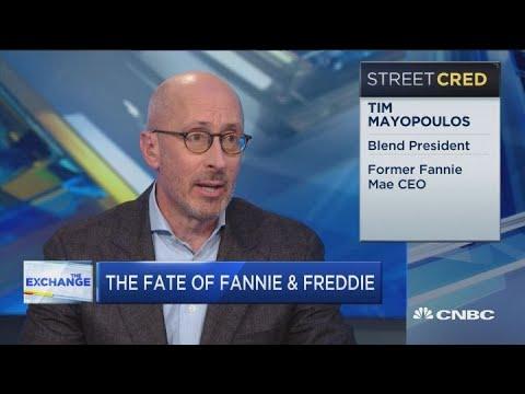 Fmr. Fannie Mae CEO on the fate of Fannie and Freddie