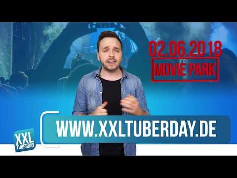 2018: XXL TuberDay im Movie Park Germany! #Info 1