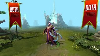 Moon Whirl Silencer weapon preview Dota 2