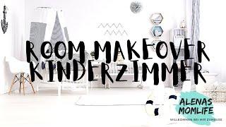 Kleines Kinderzimmer neu gestalten - viele günstige Möglichkeiten I Room Makeover I Alenas Momlife
