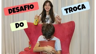 DESAFIO DO TROCA - CAROL SANTINA E RICK SANTINA