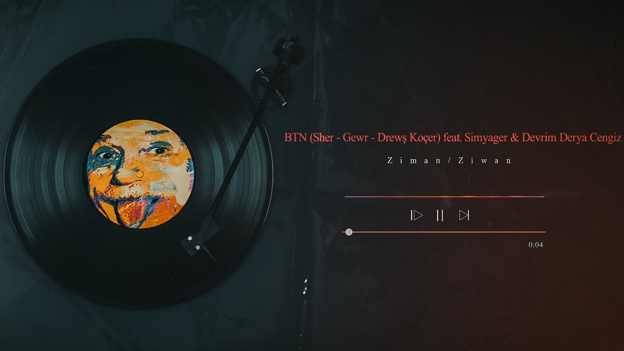 Download BTN (Sher - Gewr - Dırewş Koçer) ft. Simyager & Devrim Derya Cengiz - Ziman/Ziwan (Official Audio)