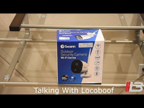 Swann Outdoor Security Camera System unboxing, review, demo: 1080p full HD, cloud – Outcam #swann