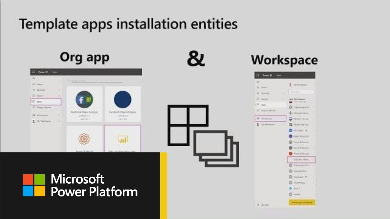 Microsoft Power BI: Introducing Power BI template apps - BRK2043