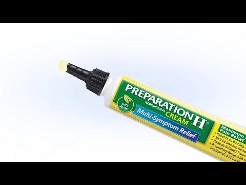 How to Apply PREPARATION H® Maximum Strength Pain Relief Cream