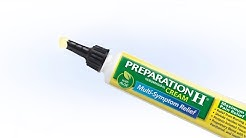 How to Apply PREPARATION H® Maximum Strength Pain Relief Cream