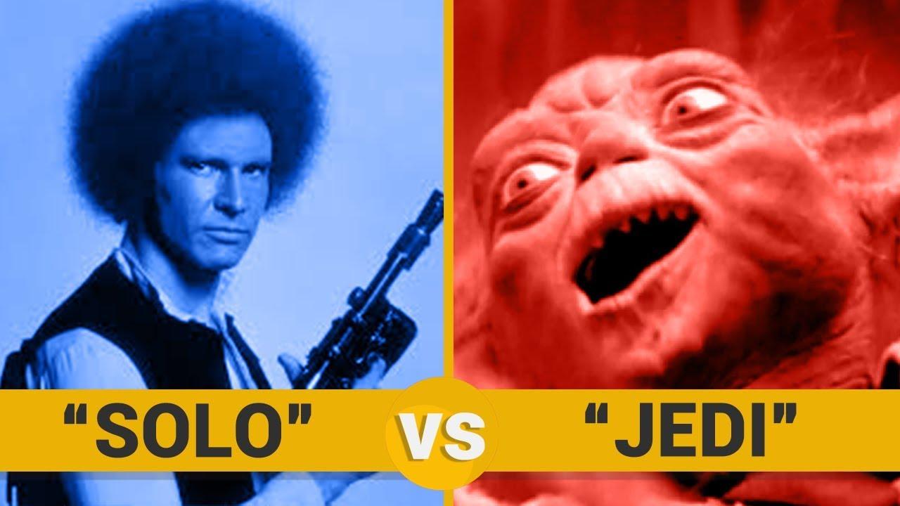 SOLO VS JEDI - Google Trends Show
