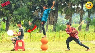 Top Challenging New Funny Videos 2020 || Best Comedy Video Episode -- 39 || Monirul Official