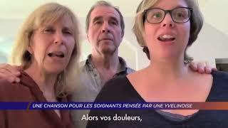 Yvelines | Une chanson pour les soignants pensée par une yvelinoise