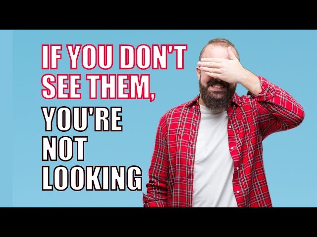 If You Don't See Them You're Not Looking!