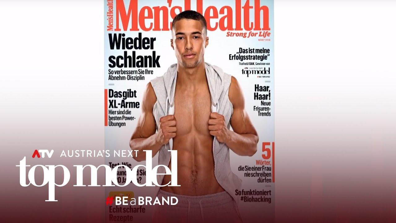 Isaks heißes Magazincover | Austria's next Topmodel 2017 | ATV