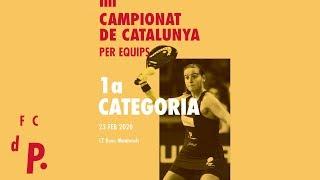 Finals Campionat Catalunya de Pàdel per Equips de 1a Categ - FCdP - CT Reus Monterols